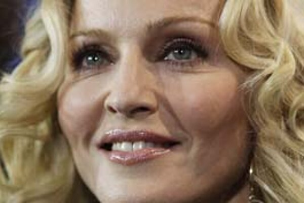 Madonna. Niekto si myslí, že nevie spievať, ale dnes patrí do Rokenrolovej siene slávy.