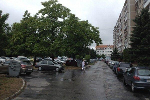 Záhorácka ulica.
