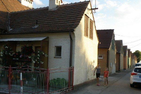 Časť Ulice Kolónia v Senici.