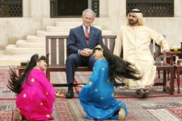 Americký prezident okrem iných krajín na Blízkom východe navštívil Dubaj, Spojené arabské emiráty a Izrael.