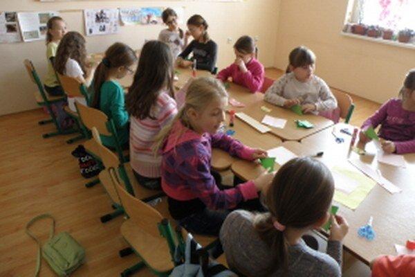 Zo Súkromnej základnej školy na Gorkého ulici v Skalici.