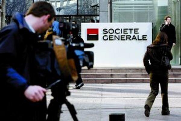 Francúzska banka Société Générale čelí podozreniu, že stojí za minulotýždňovým rozkolísaním akciových trhov.
