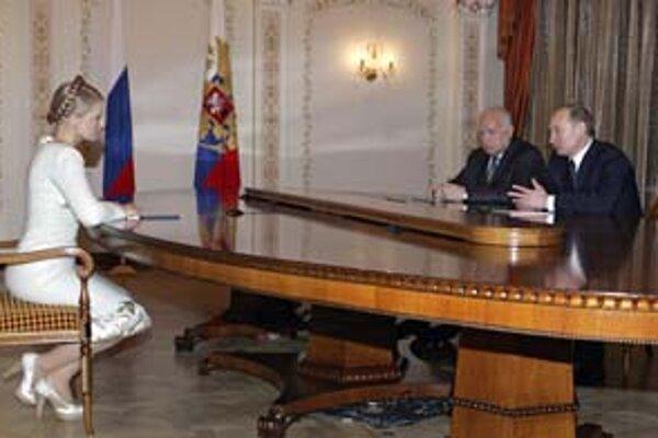 Tymošenková údajne s Putinom problémy nemá.