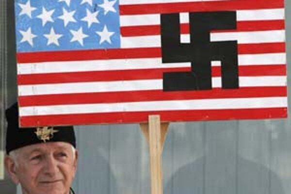 Bosniansky Srb prirovnal americkú politiku na Balkáne k nacizmu.
