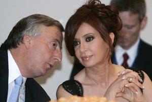 Cristina Fernandez de Kirchnerová bude prvou ženou na čele Argentíny.