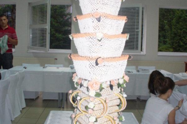 Skalická vysoká torta má dávnu tradíciu.