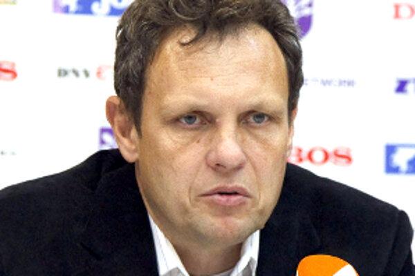 Úspešný tréner Záhorákov Stanislav Griga.