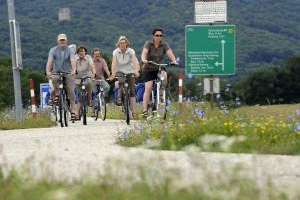 Cyklistické trasy prepoja sever a juh Európy.