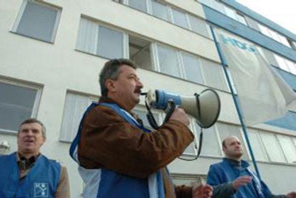 Hovorí Pavol Ondriš, člen predsedníctva Odborového zväzu Kovo.