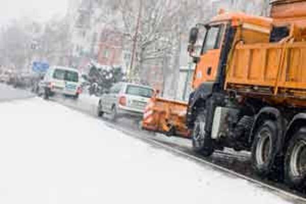 Snehu bolo už v januári v Malackách viac ako predpokladali na celý rok.