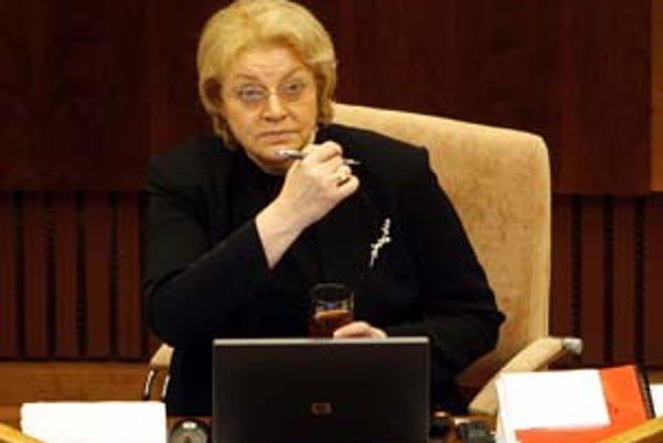Komisárka pre deti Viera Tomanová.
