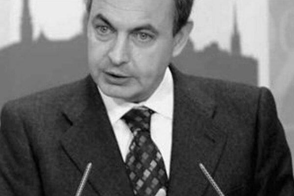 Španielsky premiér José Luis Zapatero.
