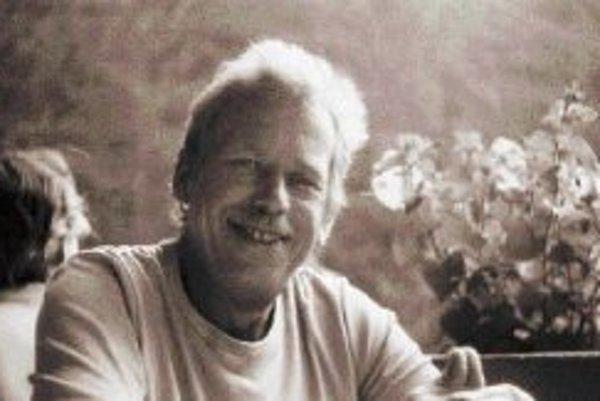 Václav Havel na jednnej z návštev Slovenska v 80. rokoch.