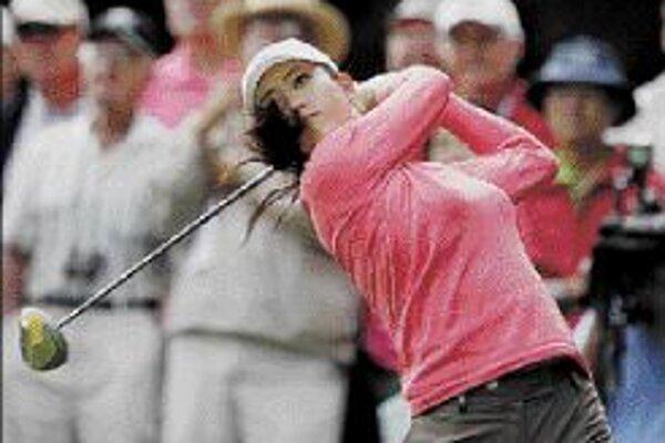 Sedemnásťročná golfistka Michelle Wieová túži po univerzitnom vzdelaní.