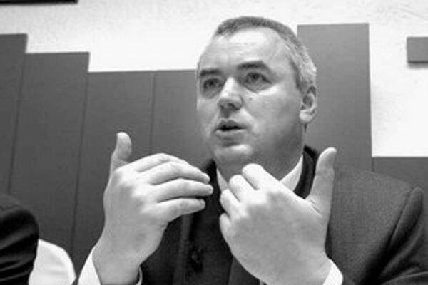 Generálny riaditeľ Lesov SR Jozef Minďáš.