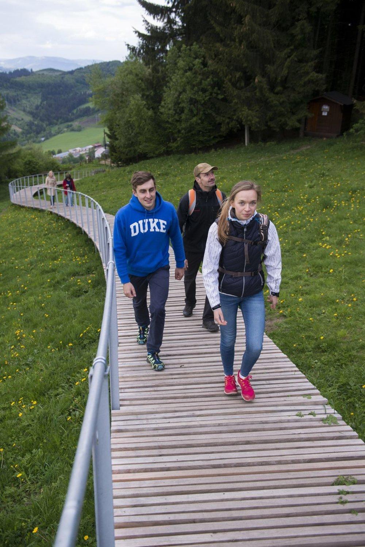 Chodník na Straník už od apríla slúži návštevníkom.