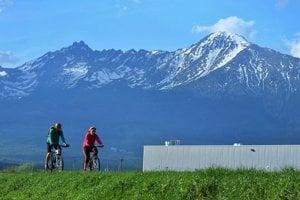Slovenské a poľské územei okolo Vysokých Tatier spojí nový cyklochodník.