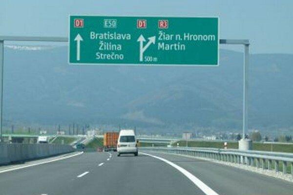 Po kúsku turčianskej R3 sa dá prejsť po zjazde zdiaľnice.