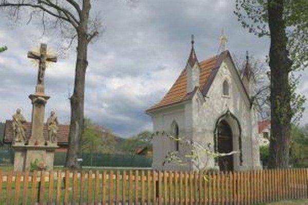 Vynovená kaplnka.