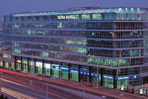 Sídlo Tatra banky v Bratislave.