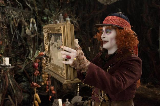 Klobučník vo filme Alica v Krajine za zrkadlom. Toto zostalo z Johnnyho Deppa.