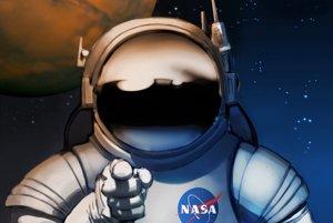 Náborový plagát NASA.