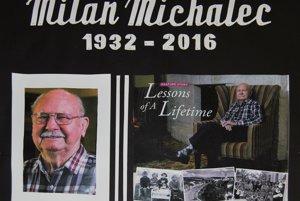 Milan Michalec v zámorí strávil takmer 70 rokov.
