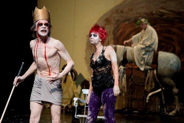 Snímka z predstavenia Divadelnej Nitry v roku 2015.