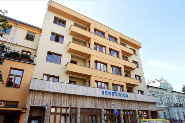 Nemocnica v Piešťanoch.