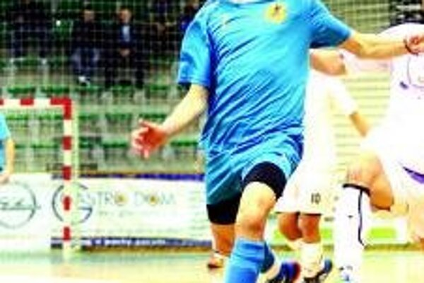 Marin Dudáš dal v drese SR už dva góly.