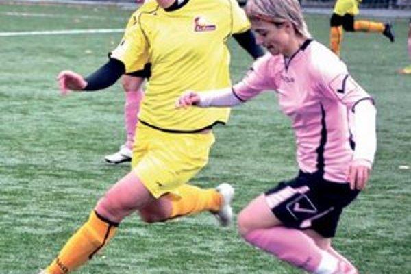 Hana Korytárová (v žltom), spoľahlivá opora FC Union.