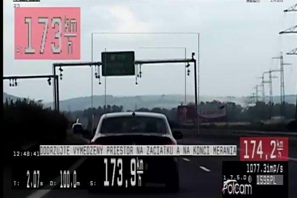 Opitý šofér prekročil maximálnu povolenú rýchlosť.