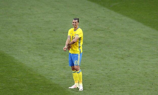Zlatan Ibrahimovič sa zatiaľ na šampionáte trápi.