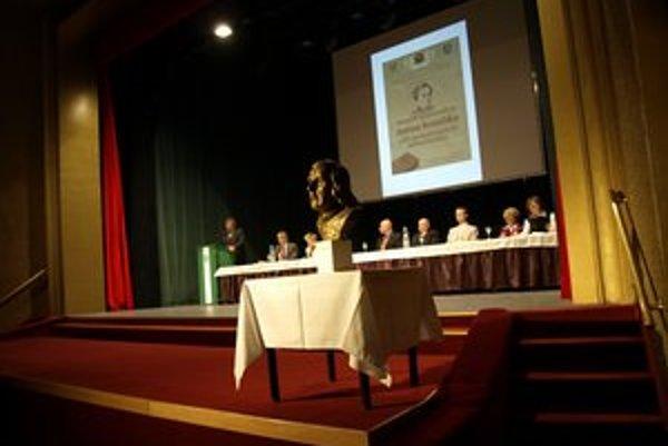 Konferencia v Dome kultúry.