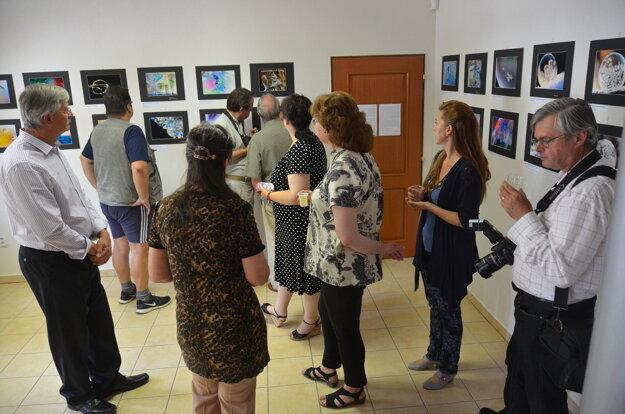 V rámci sprievodného programu otvorili dve výstavy.