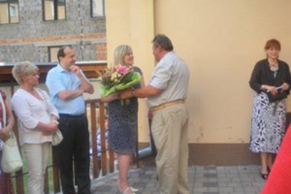 Autorke blahoželal aj primátor mesta Gejza Pischinger.
