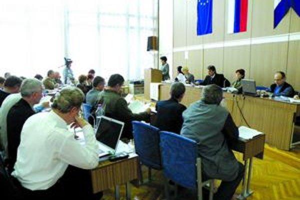 Na jednom z predchádzajúcich zasadnutí mestského zastupiteľstva v Kolárove.
