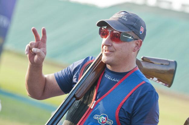 Slovenský reprezentant v trape Erik Varga.