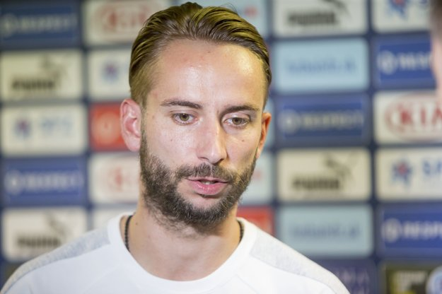 Dušan Švento novinárom prezradil, že by veľmi chcel hrať.
