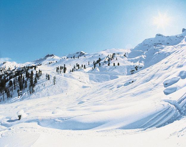 V rakúskych Alpách nájdete ideálne podmienky pre lyžovanie.