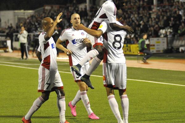 Trenčania sa z gólu radovali štyrikrát.