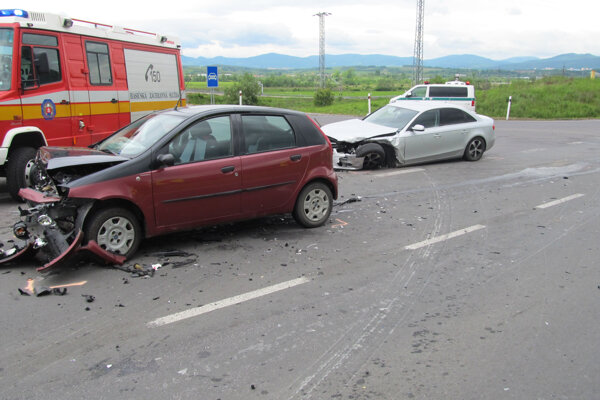 Máj 2014. Nehoda, ktorá odštartovala riešenie problému.