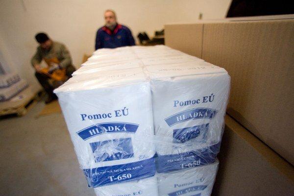 Potravinová pomoc z roku 2011.