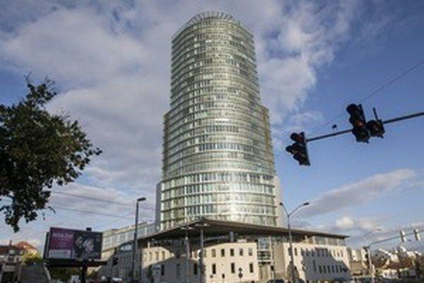 Budova Národnej banky Slovenska.