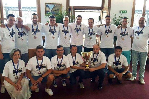 Futsalisti MFsK Nitra získali v sezóne 2015/16 bronz.