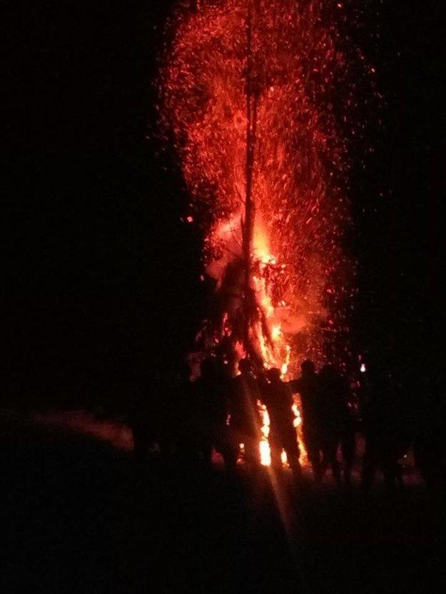 Jánska vatra na Kysuciach.
