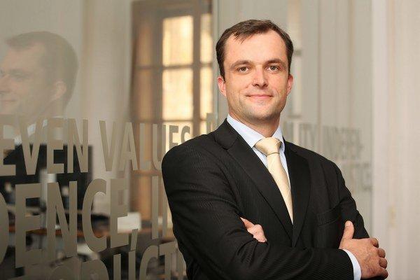 Generálny riaditeľ Saxo Bank pre Slovensko, Česko a Maďarsko Pavel Drahotský.