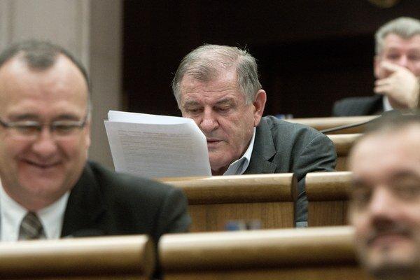 Vladimír Mečiar, bývalý slovenský politik (HZDS).