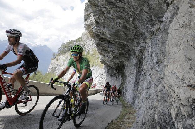 Peter Sagan (vpravo) bude bojovať o piaty zelený dres za sebou.