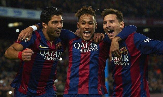 MSN - skratka obávaného barcelonského trojzáprahu.